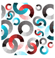 colored circles vector image vector image
