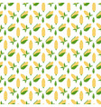 colorful corn seamless pattern corn vector image