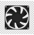 computer fan vector image