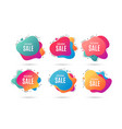 exclusive sale special offer price sign vector image