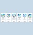 mobile app onboarding screens web software
