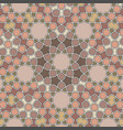 pattern in authentic arabian style girih pattern vector image
