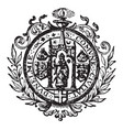 The seal for the civil corporation of durham and