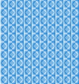 Tiles made of blue rhombus vector image