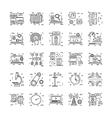 Line Icons With Detail 21 vector image vector image