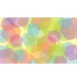 abstract geometric background kaleidoscope vector image