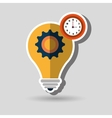 business flat icon design vector image
