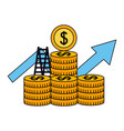 business money success vector image vector image