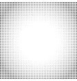 dotted halftone abstract background round vector image