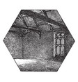 gothic rectory in market deeping house vintage vector image vector image