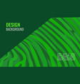 green horizontal abstract background a colored vector image vector image