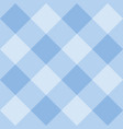 seamless sweet blue background - checkered pattern vector image vector image