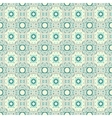 Turquoise ceramic pattern vector image vector image