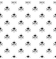 cup tea pattern seamless vector image vector image