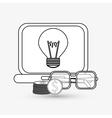 Digital Marketing design Communication and vector image