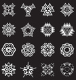 Abstract Geometric Elements Pattern Ethnic Aztec vector image vector image