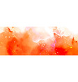 abstract surface bright orange splash vector image