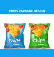 Chips Pack Design vector image vector image