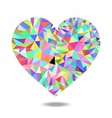 colorheart vector image vector image