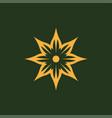 lotus spa logolotus logospa logo logo template vector image vector image