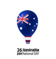 national australia day vector image vector image