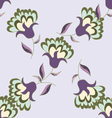 Nice pastel floral seamless pattern vector image vector image