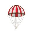 parachute icon image vector image