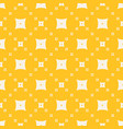 yellow geometric texture abstract seamless vector image vector image