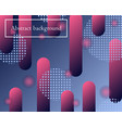 abstract background in trendy colors vector image