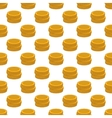 Coins pattern seamless vector image vector image