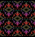 embroidery baroque seamless pattern vector image vector image