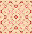 geometric seamless pattern with smooth squares vector image vector image