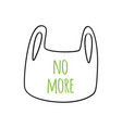 No plastic bag concept save world protect palnet