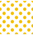 winks smile pattern seamless vector image vector image