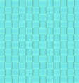 Abstract geometric blue square seamless pattern vector image