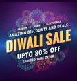 amazing diwali sale banner for your store with vector image vector image
