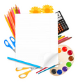 back to school big set vector image vector image