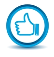 Blue like icon vector image vector image