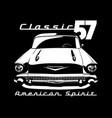 classic car 02 vector image