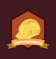 construction industry design vector image vector image