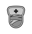 medical halloween logo icon design vector image vector image