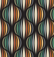 Retro repetitive wallpaper vector image vector image