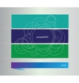 Set of banners with elements vector image vector image