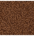 abstract background made from coffee beans vector image vector image