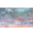 background with snowflakes winter vector image vector image
