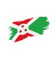 burundi flag vector image