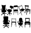 chairs vs vector image