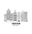 City Logo vector image vector image