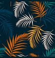Fashion night style jungle pattern seamless