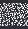irregular black and white abstract vector image vector image